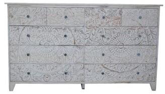 Bungalow Rose Gebhardt 10 Drawer Double Dresser