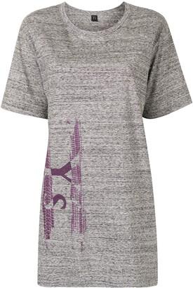 Y's logo oversized T-shirt