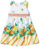 Pampolina Girl's Kleid O. Arm 6483108 Sleeveless Dress
