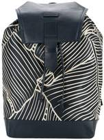 Cerruti geometric print backpack