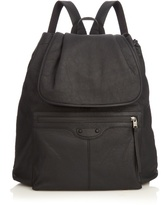 Balenciaga Arena Rubberised-leather Backpack