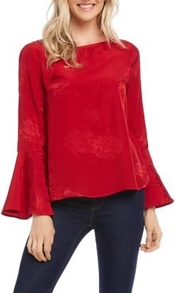 Karen Kane Bell Sleeve Blouse