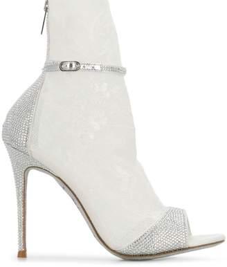 Rene Caovilla crystal embellished sandals