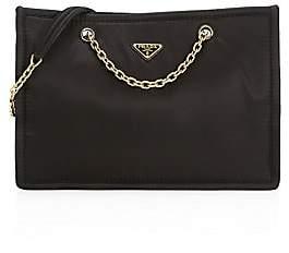 Prada Women's Tessuto Nylon Chain Shopper