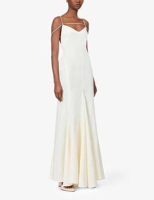 Jacquemus La robe Camargue linen maxi dress