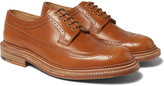 Grenson - Sid Triple-welted Leather Wingtip Brogues