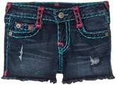 True Religion Bobby Raw Edge Shorts Girl's Shorts