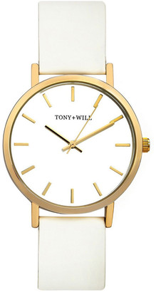 TONY+WILL Classic White TWT000C Watch