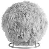 Pottery Barn Teen Exercise Ball Chair, Fur-rific Gray