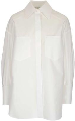 Fendi Cufflink Detail Shirt