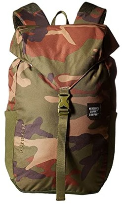 Herschel Barlow Medium (Woodland Camo) Backpack Bags