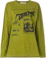 Ottolinger graphic print sweatshirt