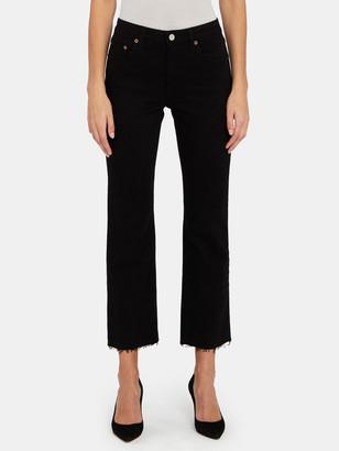 Trave Colette Mid Rise Kick Flare Jeans