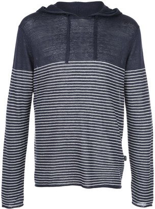 Onia Frank anchor striped hoodie