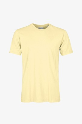 Colorful Standard - COLORFUL STANDARD SOFT YELLOW WOMENS ORGANIC TEE - SMALL