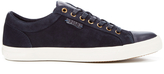 Polo Ralph Lauren Men's Geffrey Suede/Leather Trainers Navy/Newport Navy