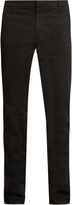 Kenzo Slim-leg stretch-cotton chino trousers