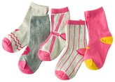 5 Pairs Emmas Style Korean Kids Cute Mixed colors Cotton Socks