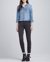 Blank Leopard-Print Ankle Jeans (Stylist Pick!)