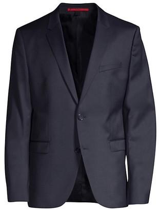 HUGO BOSS Two-Button Wool Blazer