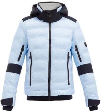 Toni Sailer Tami Hooded Quilted Ripstop Ski Jacket - Light Blue