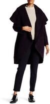 ZAC Zac Posen Camilla Oversized Collar Hooded Coat