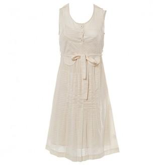 Mulberry Ecru Cotton Dress for Women