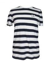 "Zoe Karssen ""cartoon Eyes"" Striped T-shirt"