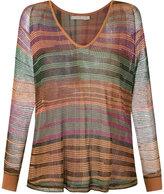 Cecilia Prado knitted blouse - women - Acrylic/Lurex/Viscose - PP