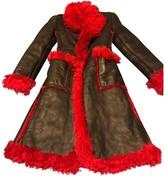 Prada Black Shearling Coats