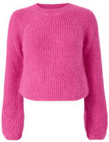 Exclusive for Intermix Luella Cropped Pink Pullover Sweater