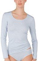 Calida Women's Langarm/ 3/4 Arm Comfort Pyjama Top