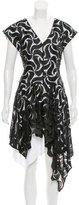 Maiyet Sleeveless Two-Tone Dress