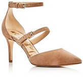 Sam Edelman Thea Double Strap d'Orsay Pointed Toe Pumps