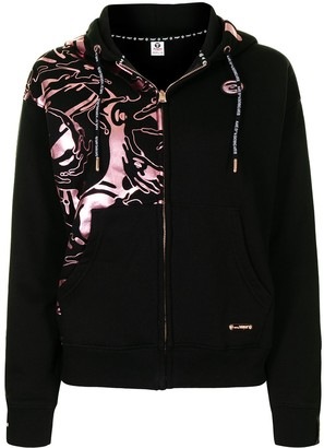 AAPE BY *A BATHING APE® Graphic-Print Zip-Up Hoodie