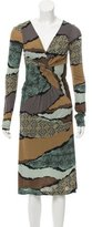 Etro Abstract Midi Dress