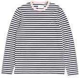 Farah Trafford Long Sleeve T-Shirt Navy