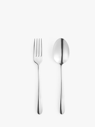 John Lewis & Partners Dome Serving Cutlery, 2 Piece