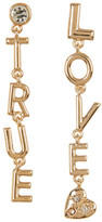 BCBGeneration Crystal Detail True Love Drop Earrings