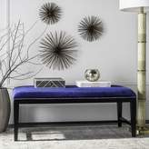 Safavieh Mercer Collection Zambia Bench, Royal