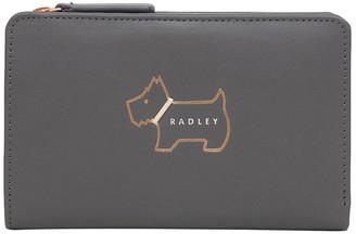 Radley Heritage Dog Outline Medium Bifold Purse