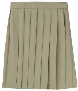 French Toast Girls School Uniform Adjustable Waist Mid Length Pleated Skirt, Sizes 4-20