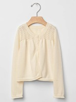 Gap Pointelle layering cardigan