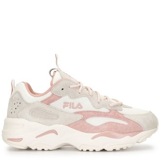 Fila Panelled Chunky Sole Sneakers