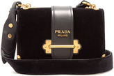 Prada Cahier velvet cross-body bag