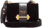 Prada Cahier velvet cross-body bag