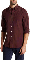 Gant Bleecker Madras Checker Print Long Sleeve