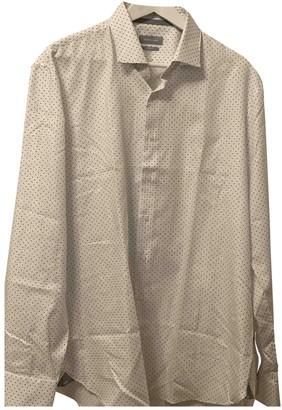 Michael Kors White Linen Shirts