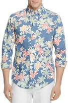 Brooks Brothers Regent Tropical Floral Print Slim Fit Button-Down Shirt