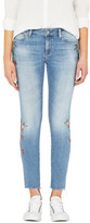 Mavi Jeans Alissa High Rise Skinny Ankle Jean With Embroidery